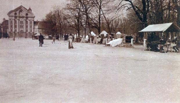 1895 - Zasilna bivališča na Kongresnem trgu