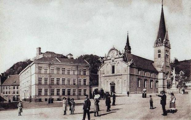 1910 - Trg sv. Jakoba