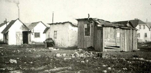 1930 - Galjevica, najrevnejša četrt v Ljubljani (današnji Rudnik)