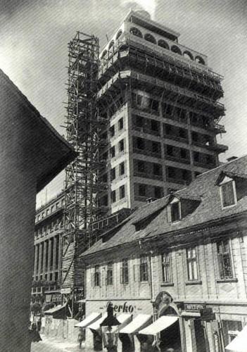 1931 - gradnja Nebotičnika