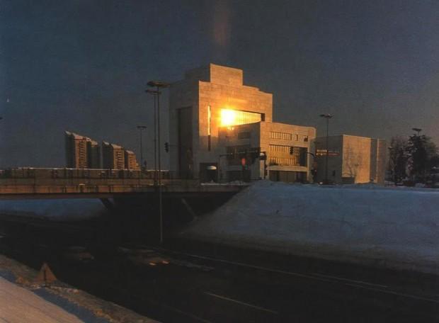 1980s - Osamljeni Smelt na vrhu Dunajske ceste