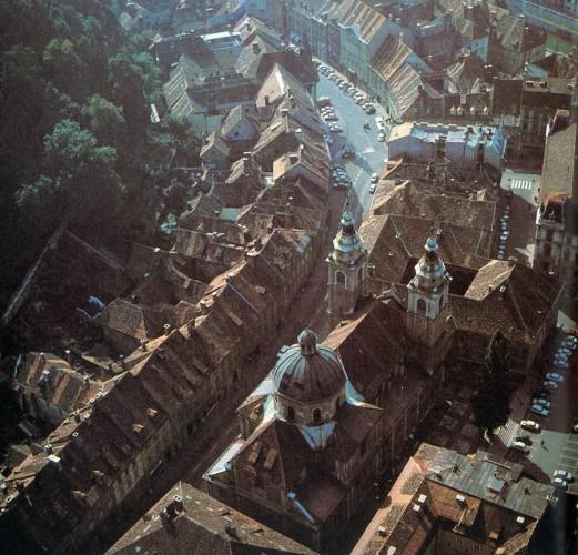 1982 - Ciril-Metodov trg, iz zraka