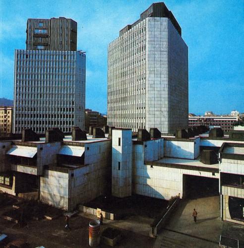 1982 - stolpnici NLB, Trg republike