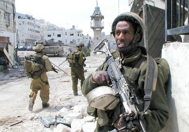 Izraelski vojaki med drugo intifado, 2002 | IDF