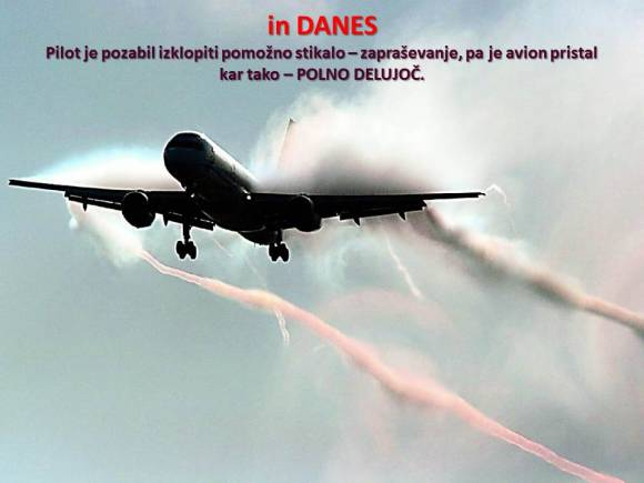 Letala in nebo danes | meteor