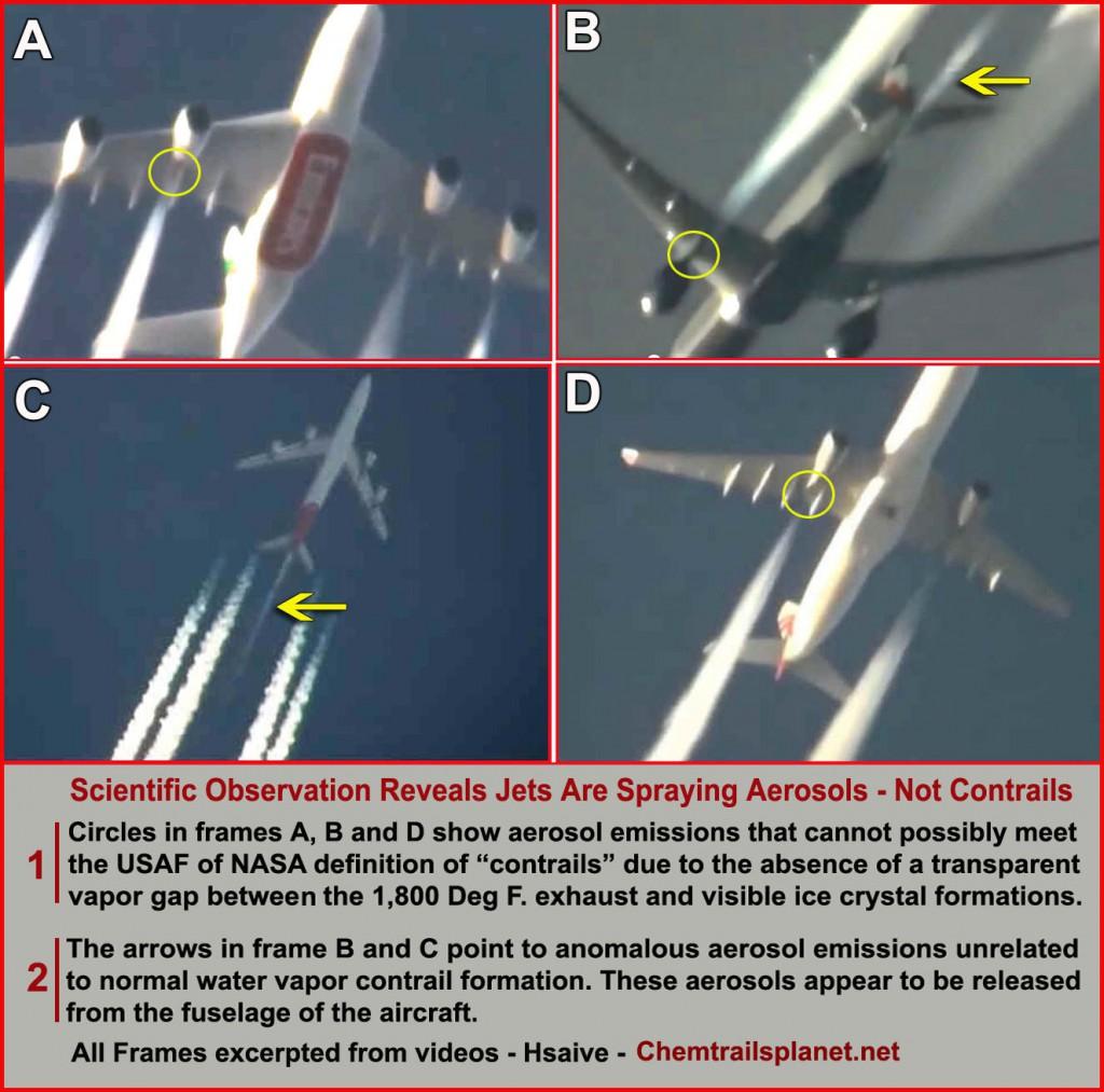 """""""Nenavadni izpuhi prihajajo naravnost iz letalskega trupa. Znanost!"""""""