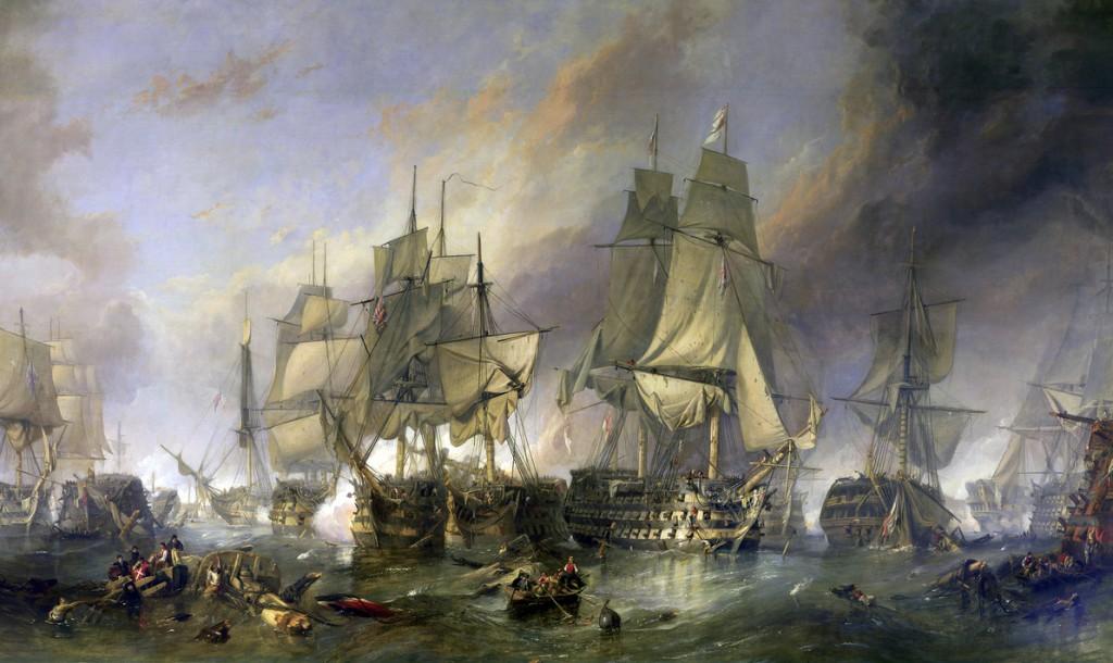 Bitka pri Trafalgarju, Clarkson Frederick Stanfield