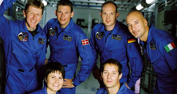 Astronavti Ese, izbrani leta 2008