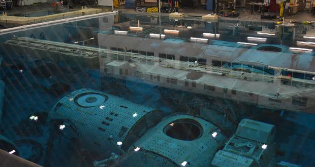 Nasin bazen za urjenje astronavtov
